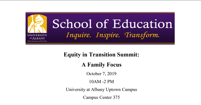 Equity and Transition Summit