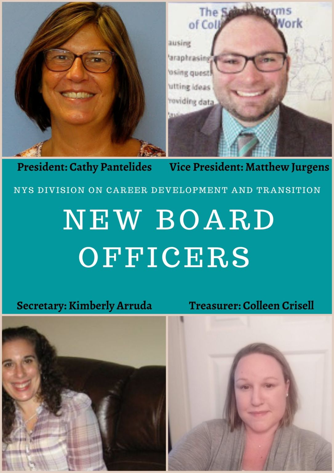 New Board Officers